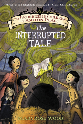 The Interrupted Tale new cover